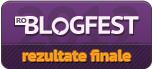 Rezultate finale roblogfest 2012